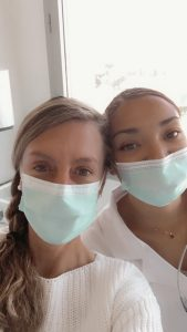 étude scientifique sur les produits cosmétiques utilisés par Myriam Ballot